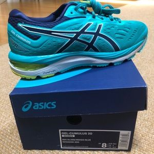 Asics GEL-CUMULUS 20 sea glass/indigo blue